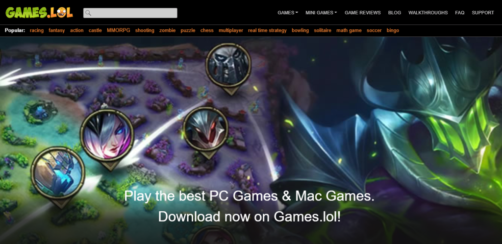 Why Games.lol is the Best Way to Play Android Games on PC