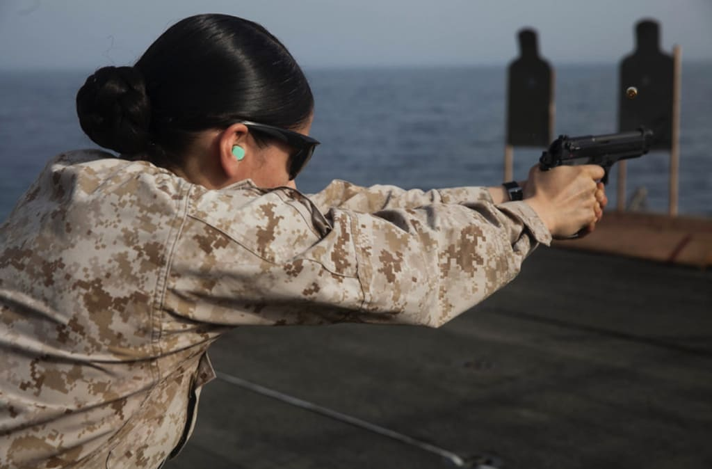 Marine Corps Stories: For the Love of the Gun