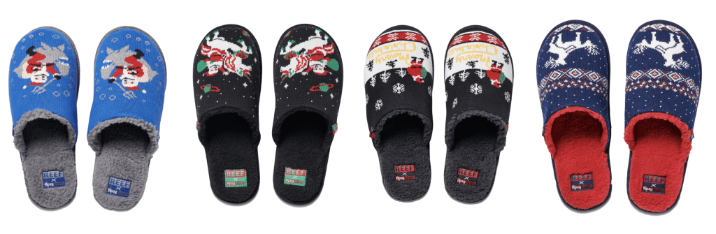 Tipsy Elves and REEF Slide Into the Holiday Season Together