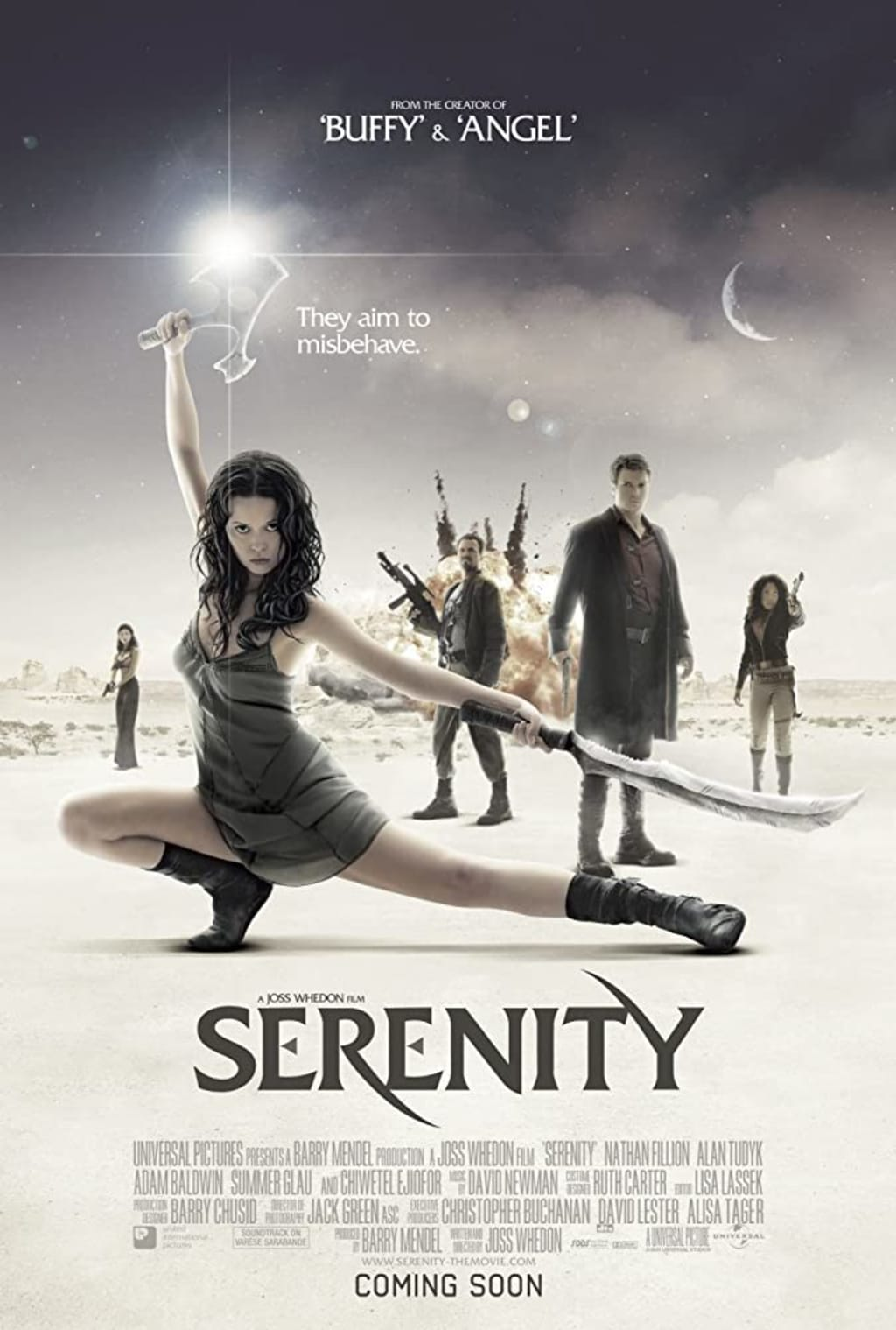 Serenity Picks Up Where Firefly Let Off