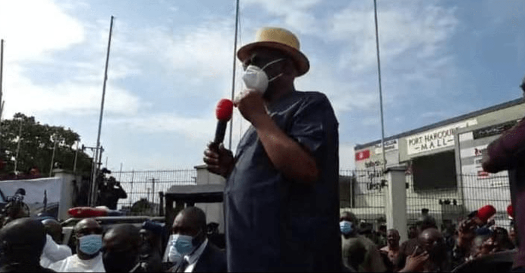 5 Wild Things Gov. Nyesom Wike Said During The Rivers State #EndSars Protest.