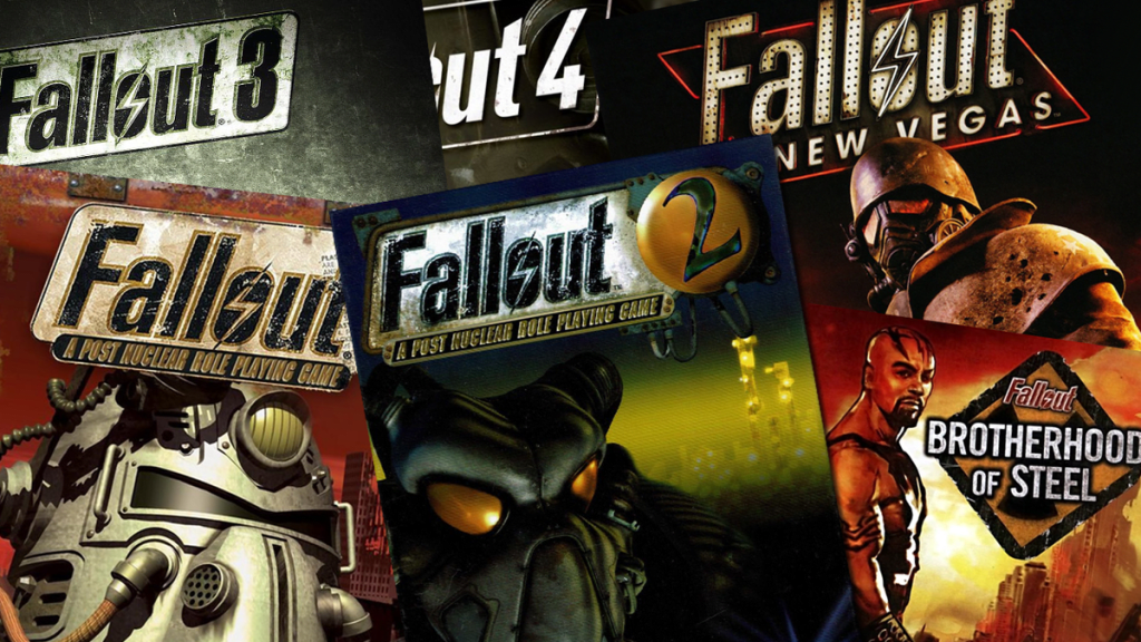 Why fallout is hands down the best franchise.