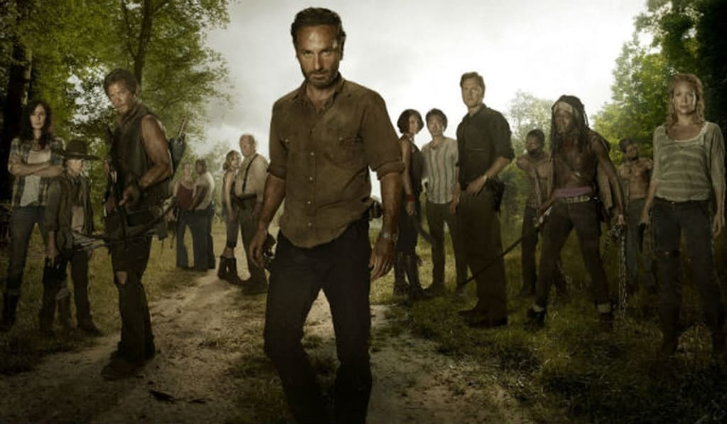 Larby Amirouche On Why Rick Grimes Is A Good Leader
