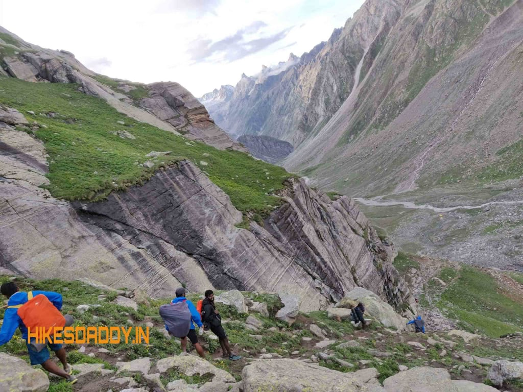 Hampta Pass :The trekking experience