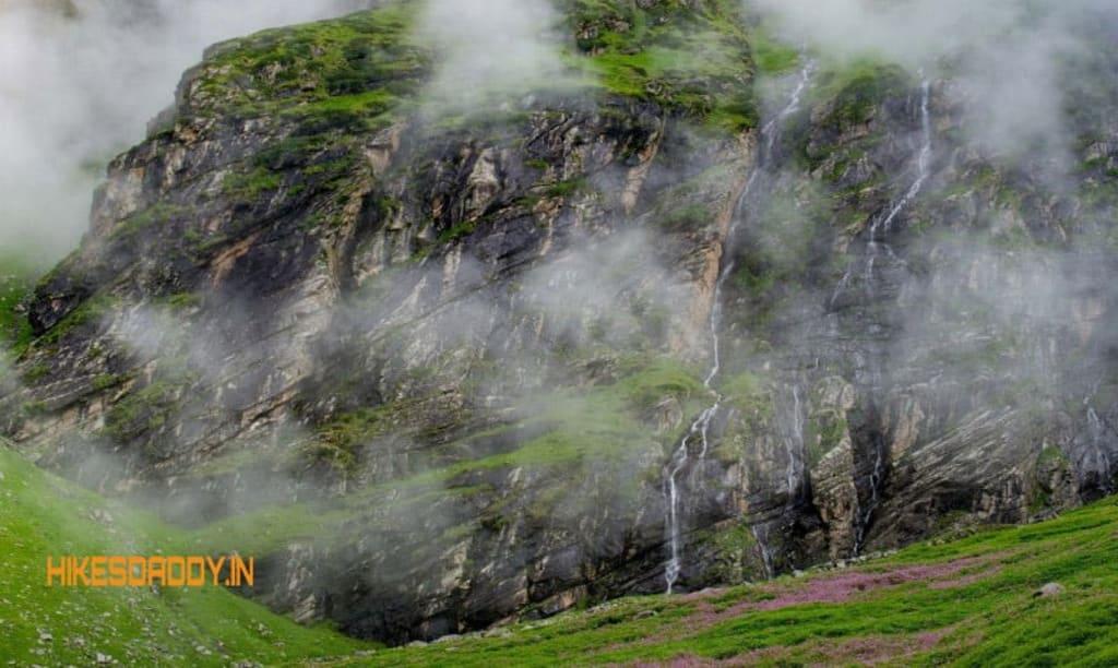 Beas Kund Trek through valleys
