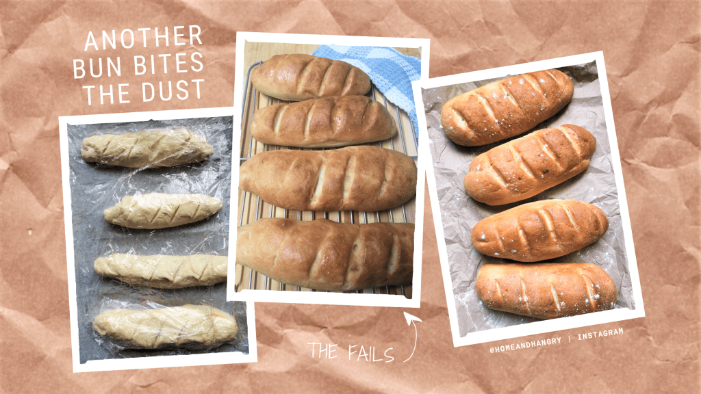 The Bread Diaries: I've Bun Defeated