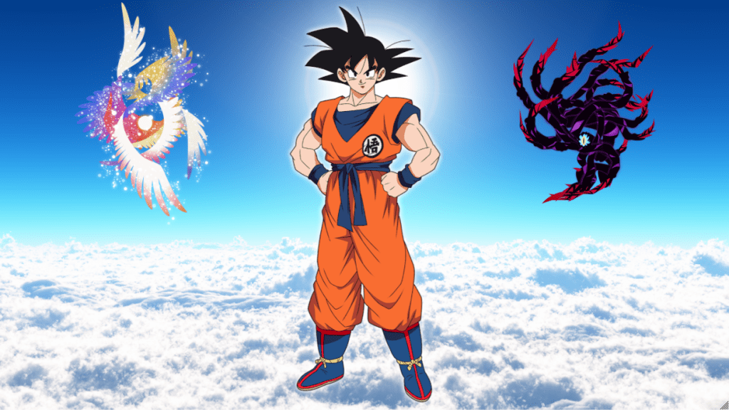 The Story of Goku (The 1st Dragon Warrior)