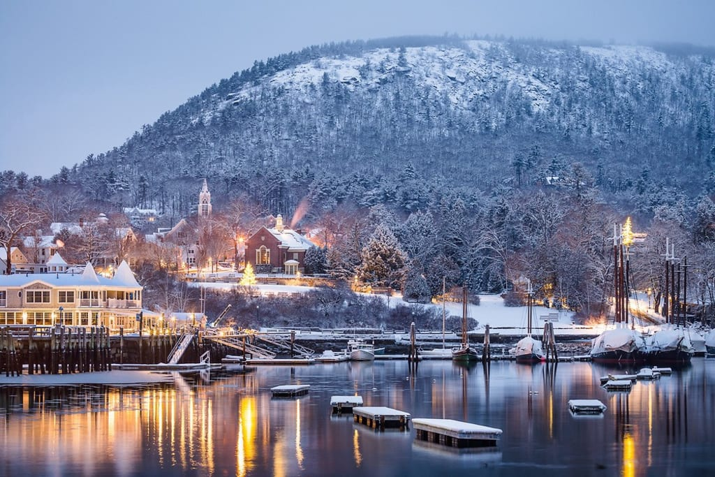 Magical Winters of MidCoast Maine~