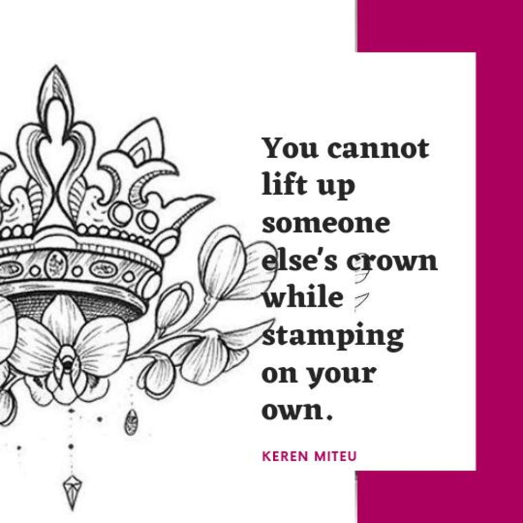 Lift Up Your Crown Motivation