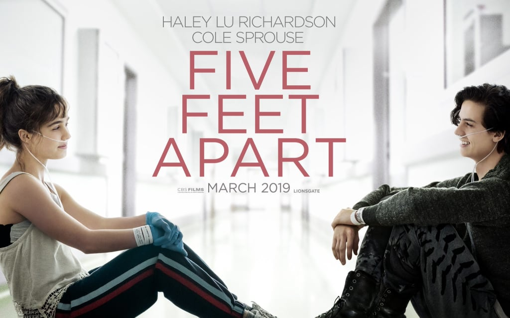 """Five feet apart"" aka. did this movie just become our life?!"