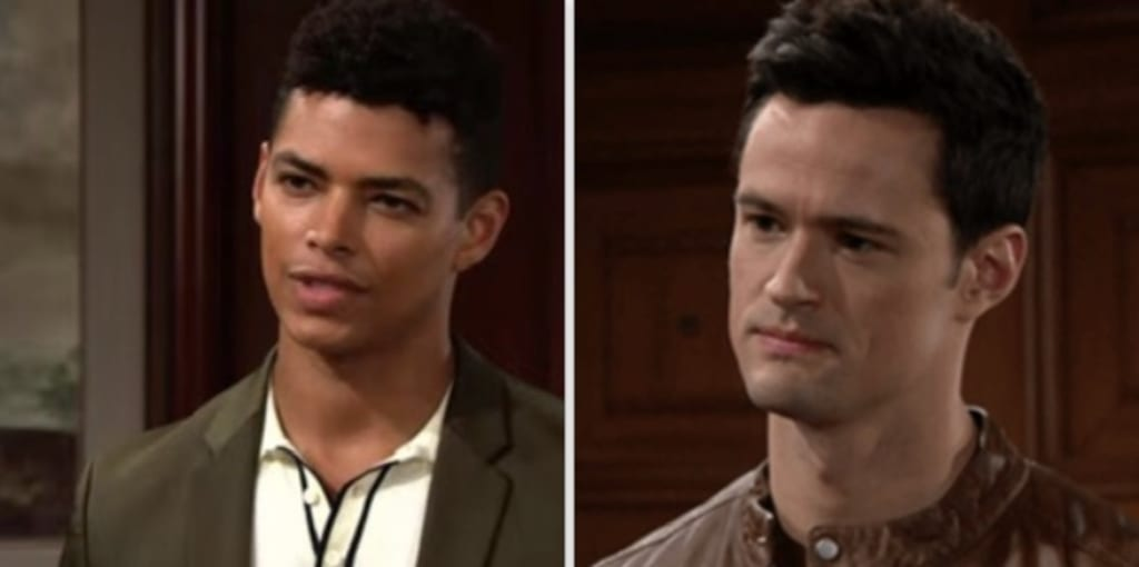 Thomas and Zende are up to no good on The Bold and the Beautiful
