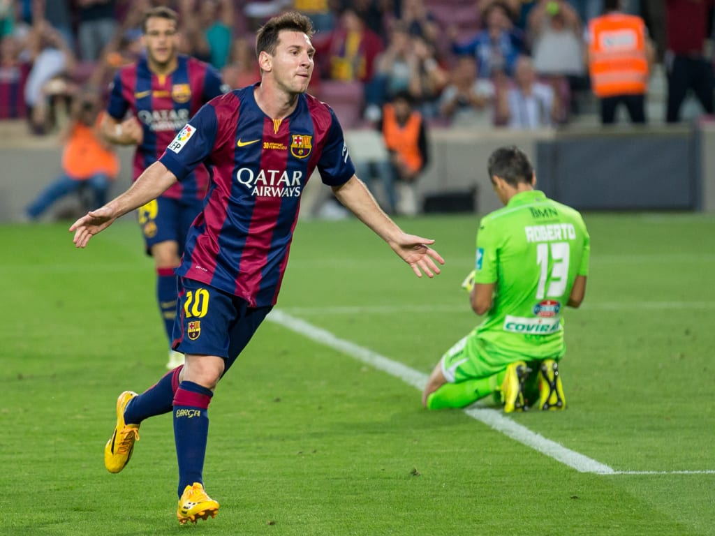 How to contact Lionel Messi?