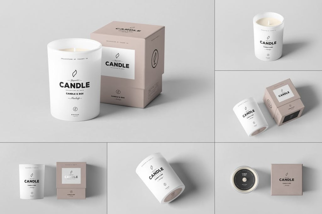 Custom Design Ideas For Candle Packaging