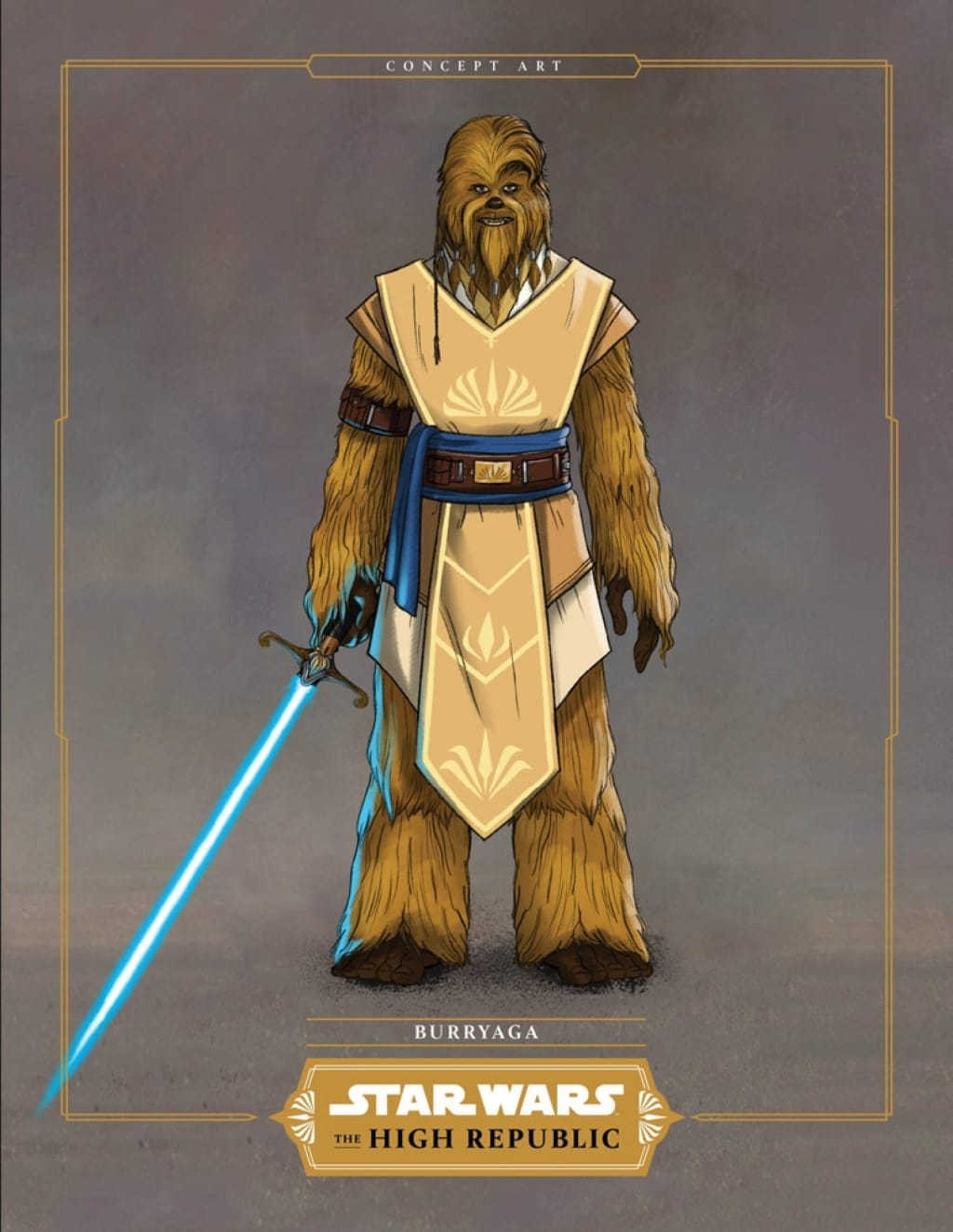 Star Wars The High Republic We Now Have A Wookiee Padawan Proud, your people must be.. star wars the high republic we now