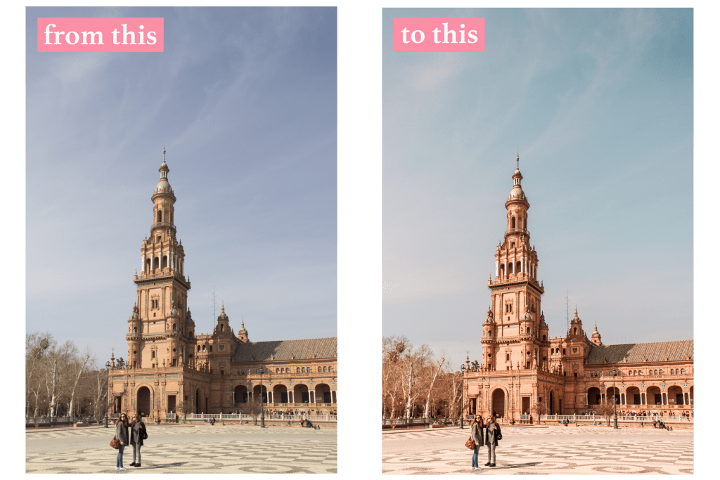 How To Edit Warm, Bright Photos For Instagram Using Lightroom