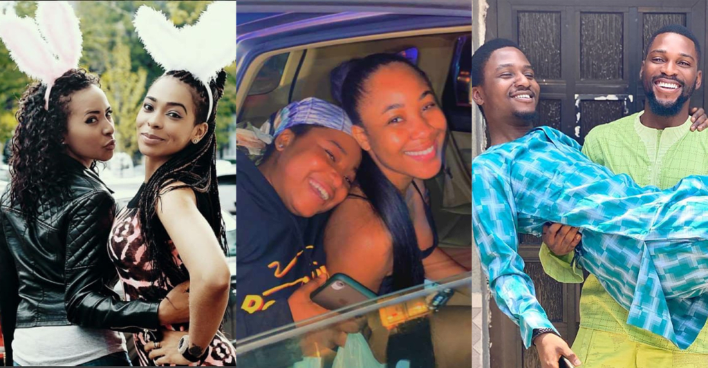 11 BBNaija Housemates With The Cutest Siblings (Photos).