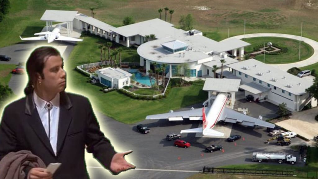 11 Expensive Things Owned By John Travolta