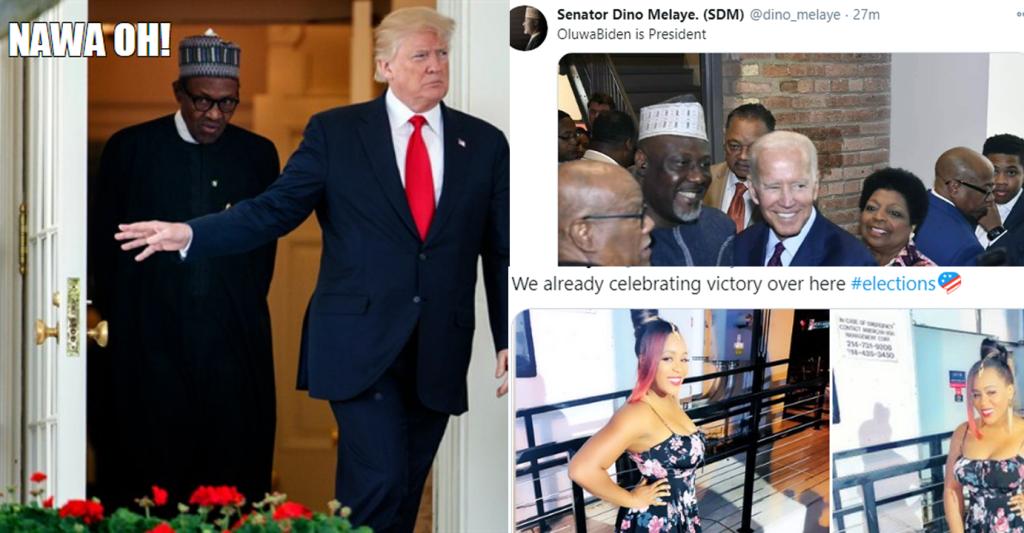 11 Nigerian Celebrities React to Joe Biden Winning U.S. Presidential Election.