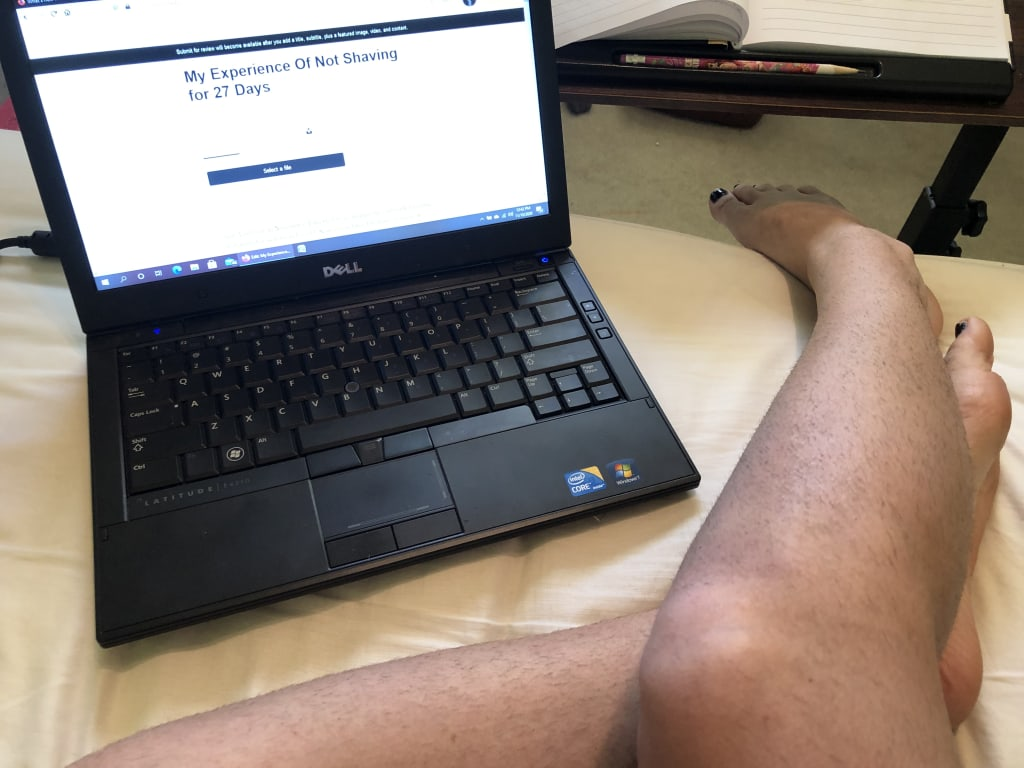 My Experience Of Not Shaving for 27 Days
