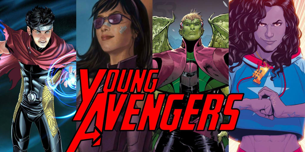 Marvel's MCU Young Avengers Cast