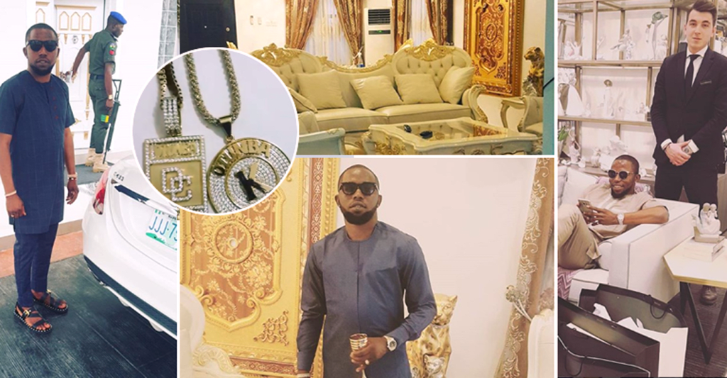 Check Out The Luxurious Lifestyle of Popular Nigerian Fraudster Otunba Cash (Photos).