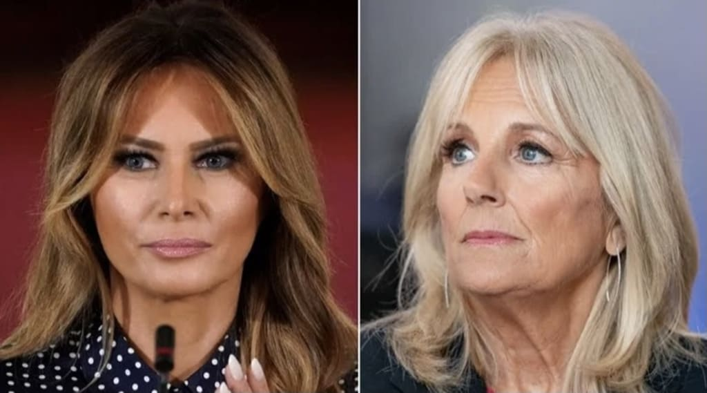 Melania Trump breaks First Lady tradition and snubs Jill Biden