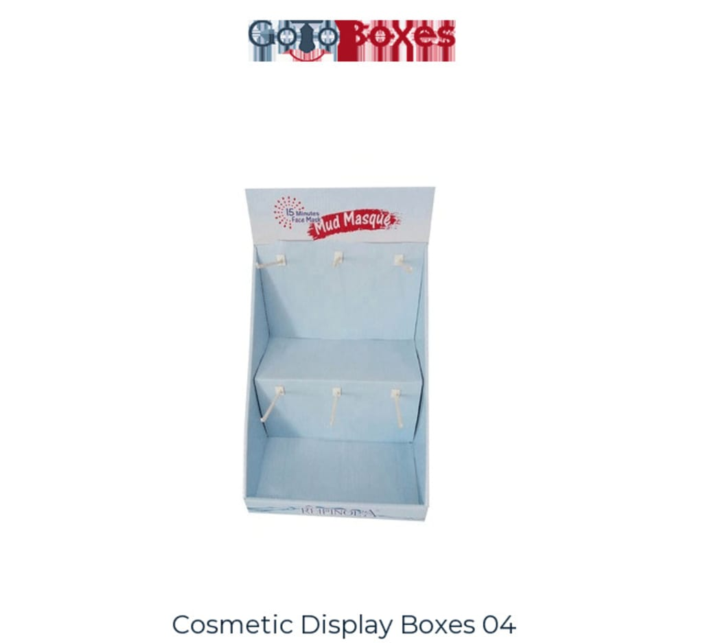 Customize your Custom Cosmetic Display Boxes At GoToBoxes