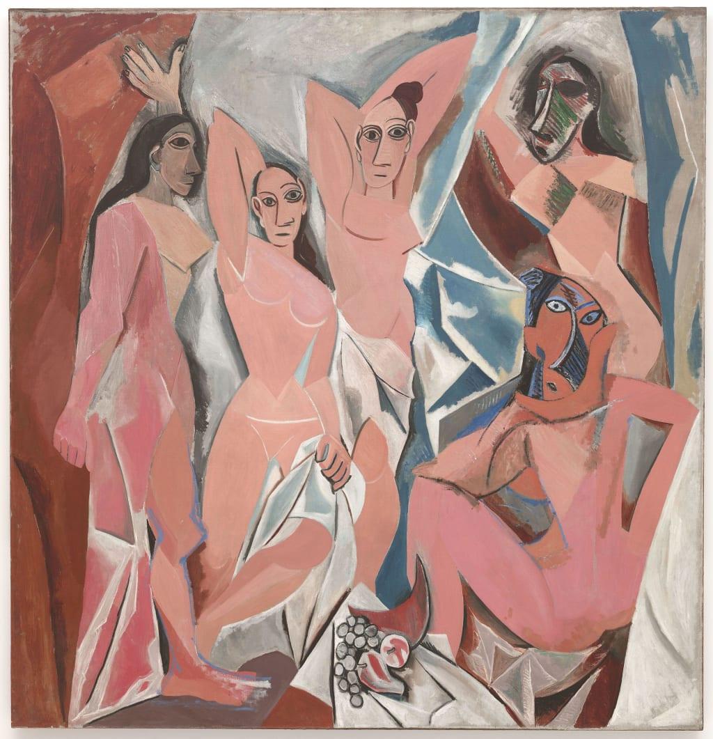 Picasso's modernity through 'Les Demoiselles d'Avignon'