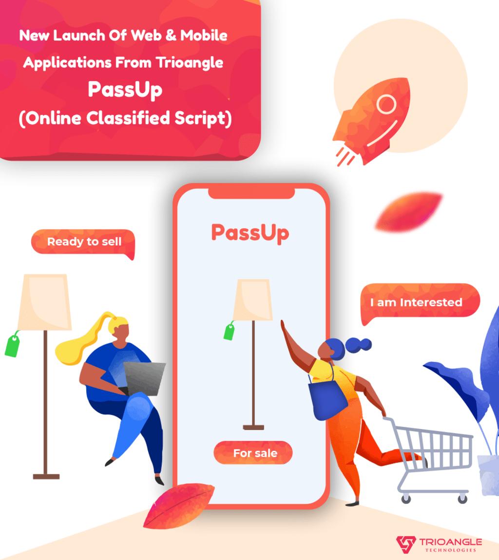 PassUp-Letgo Clone