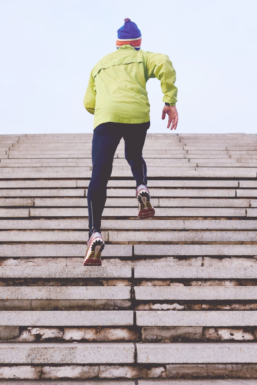 How to Run Away From Decay With 10,000 Steps a Day