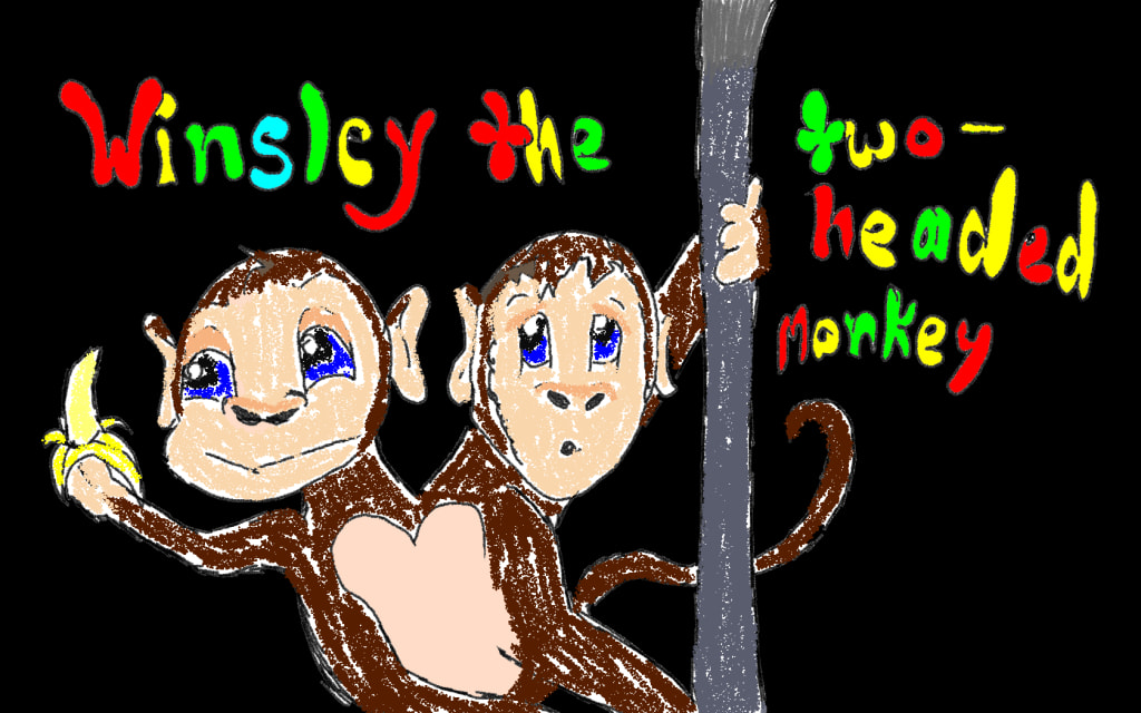 Winsley the Two-headed Monkey