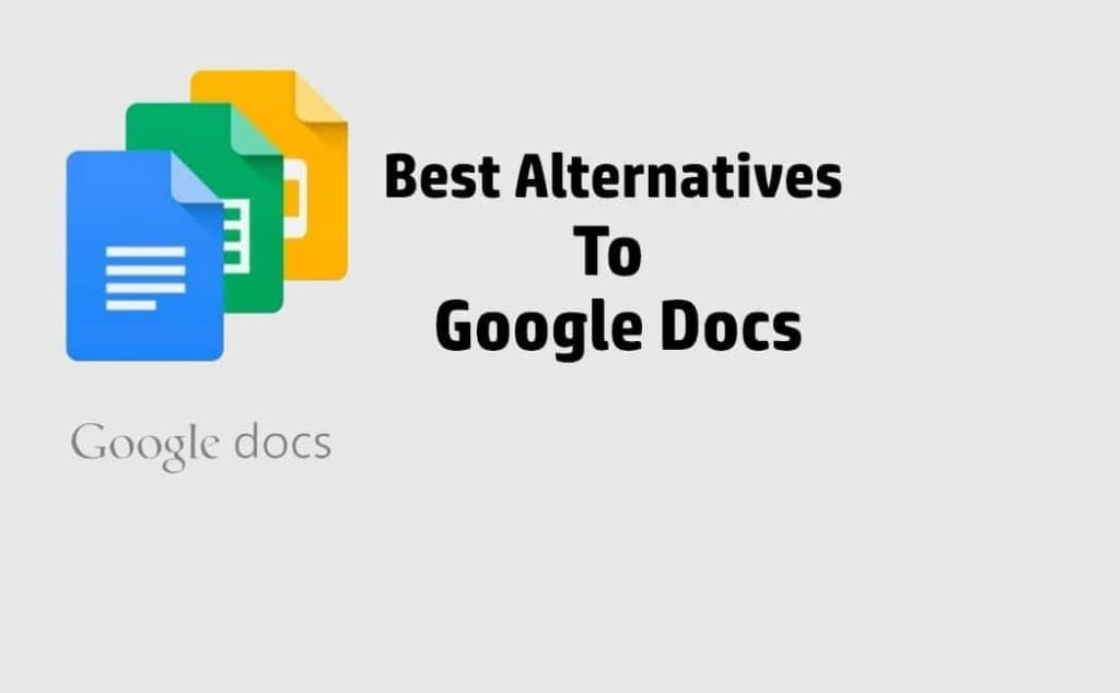 Best Google Docs Alternatives