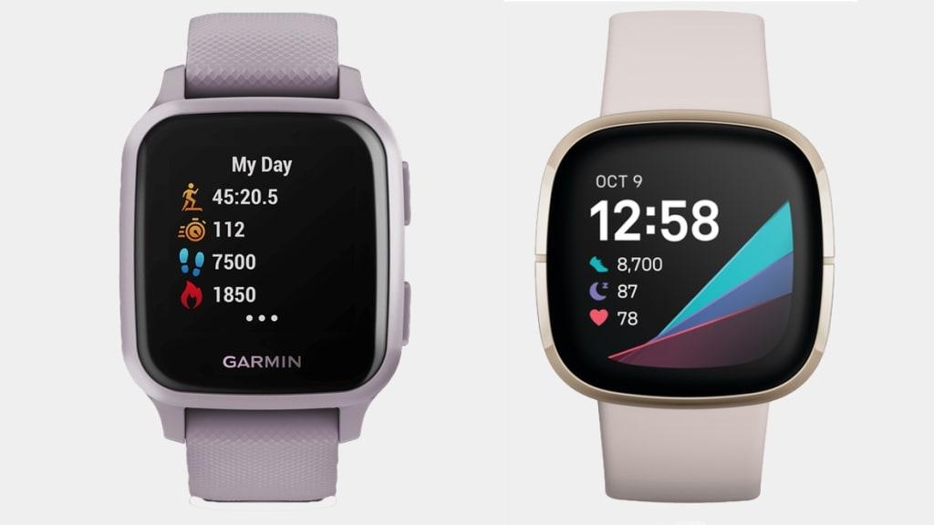 Garmin Venu Sq vs. Fitbit Sense