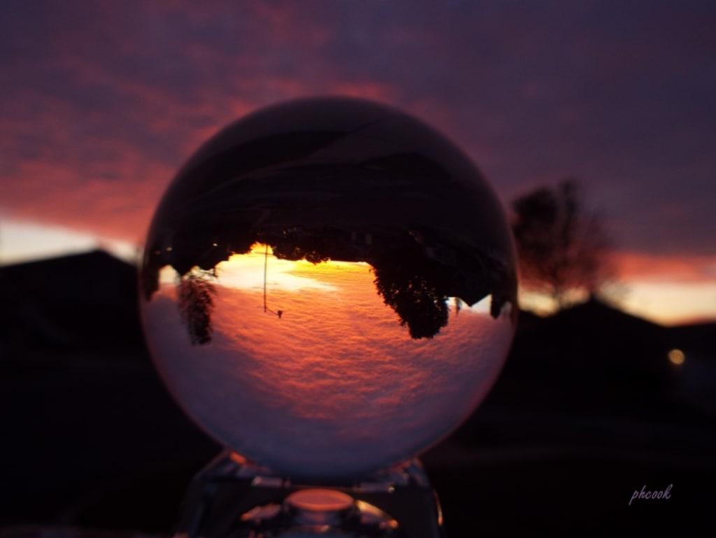Taking Photos Using a Lens Ball
