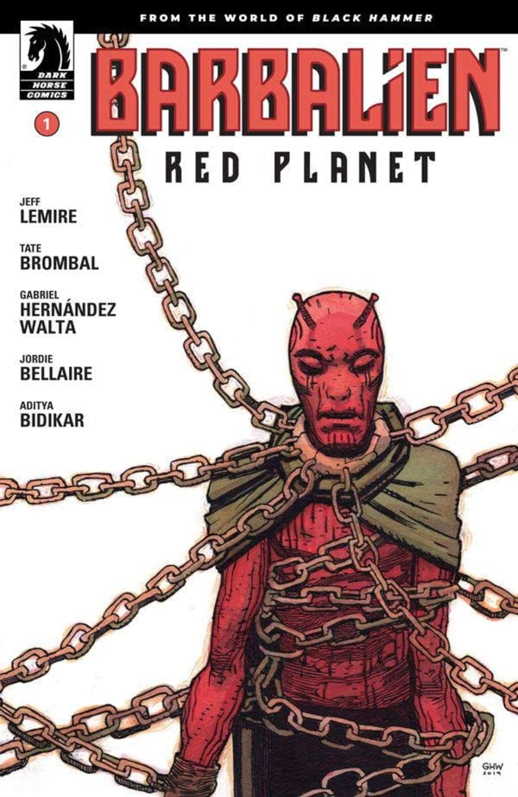 Barbalien Red Planet #1
