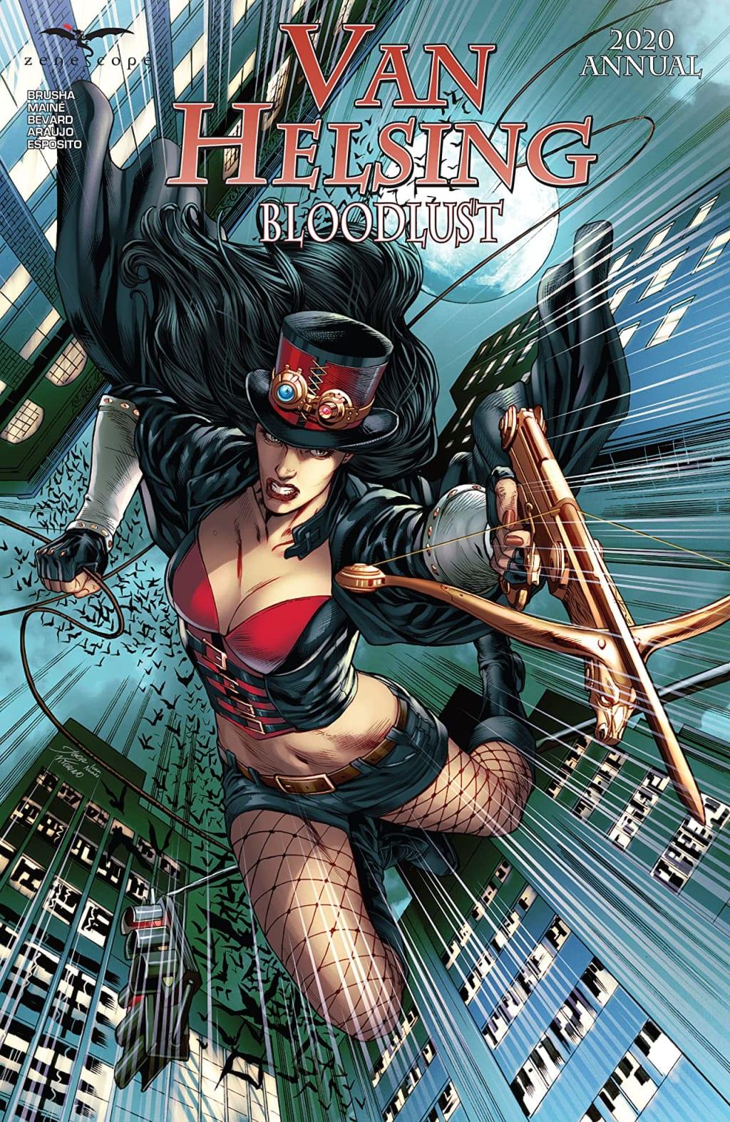 Van Helsing Bloodlust 2020 Annual