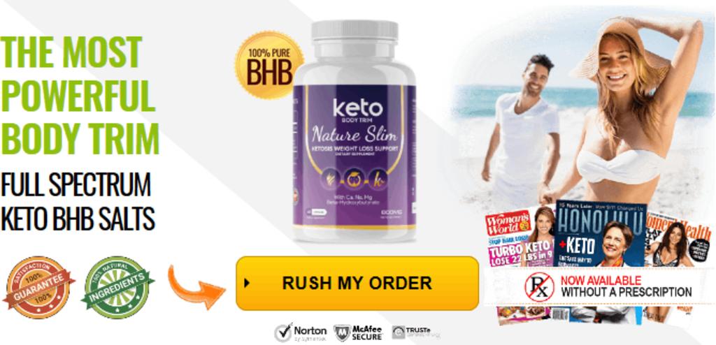 Keto Body Trim Natural Slim Canada Pills
