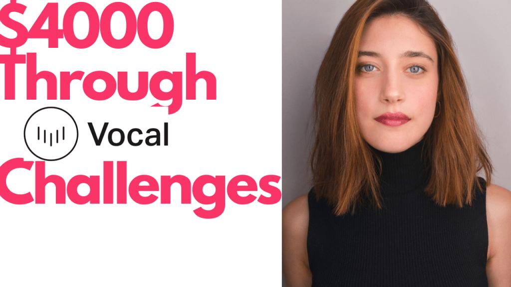 $4000 Through Vocal Media Challenges By Kathryn Milewski - An Interview