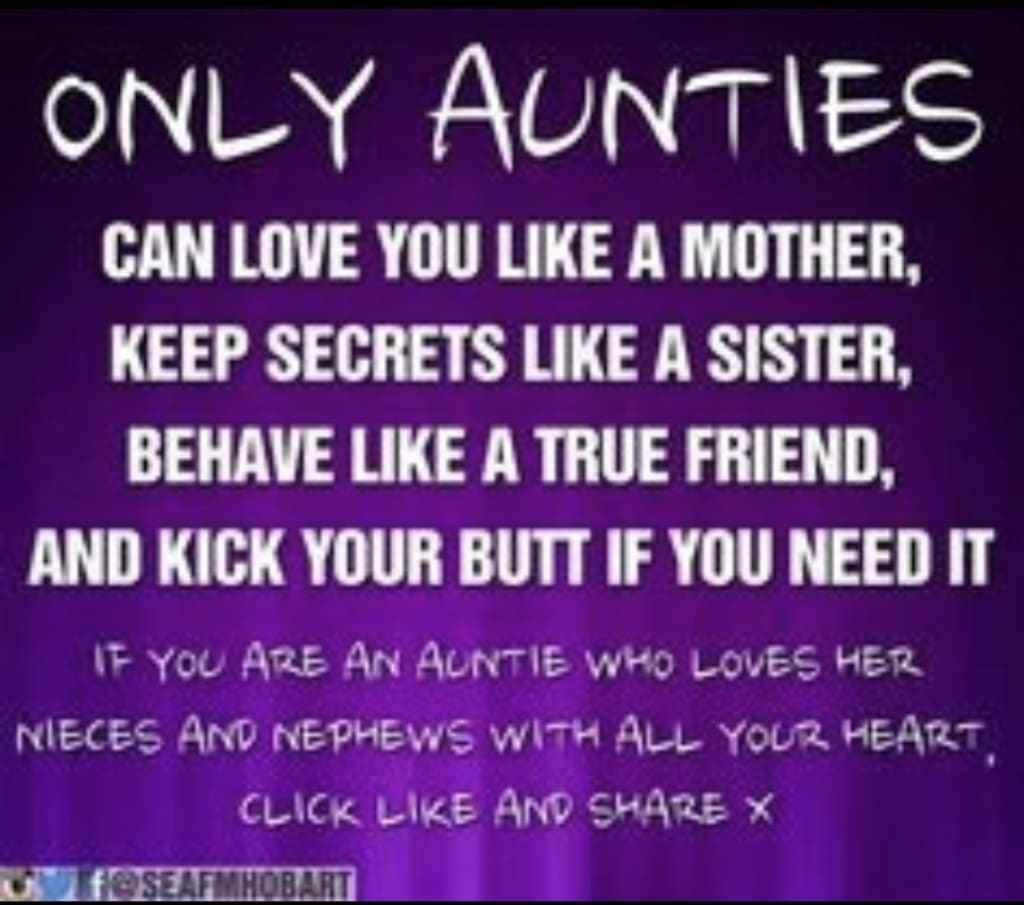 Are Aunties Nicer Moms?