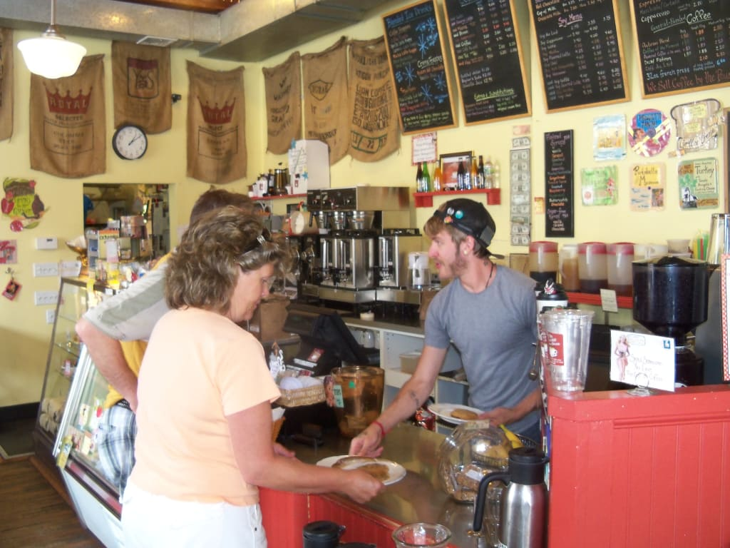 The Coffee House is Home for Artists and Art Lovers in Peekskill