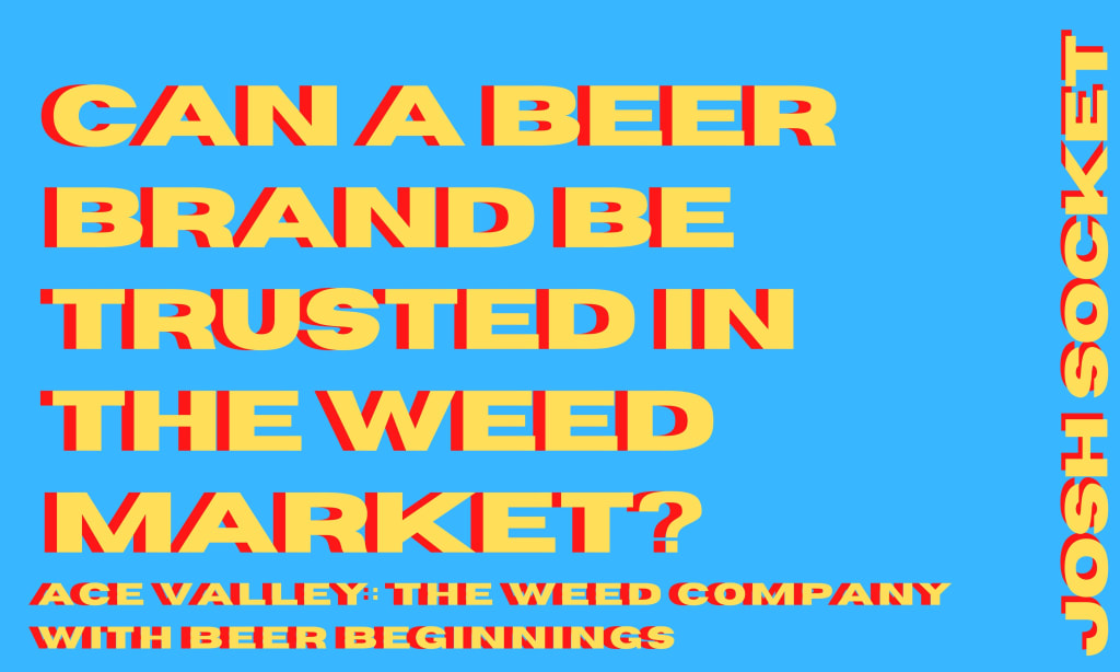 Can a beer brand be trusted in the weed market?