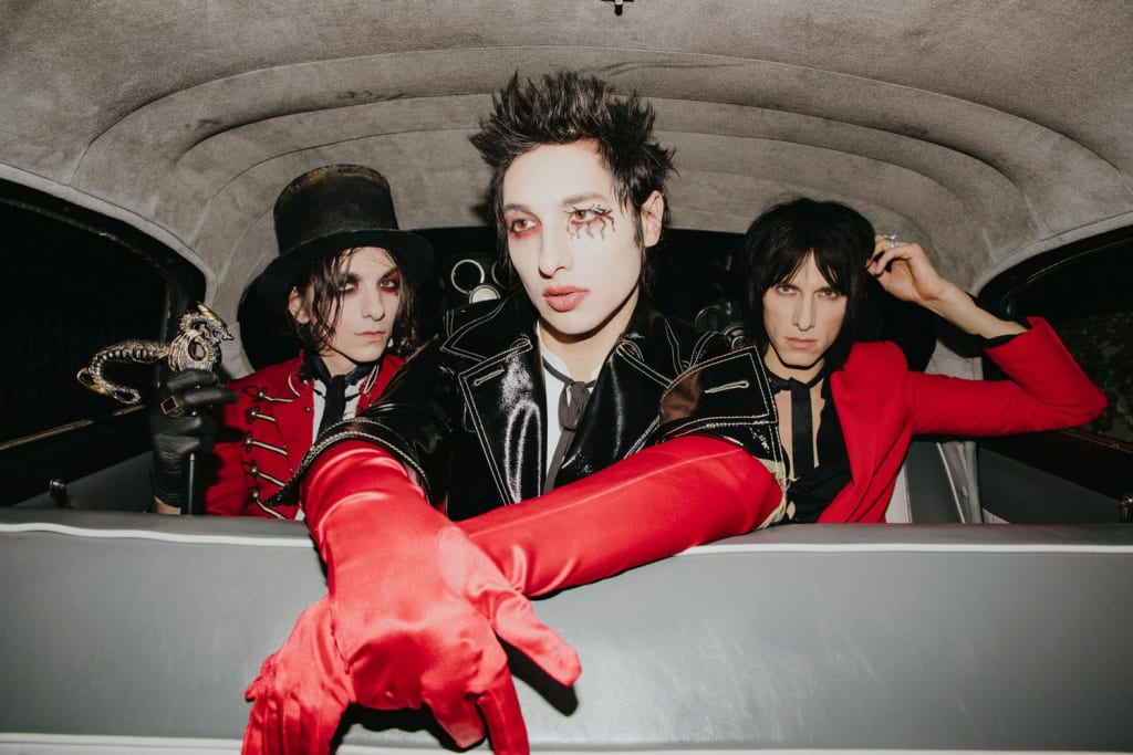 I Was Sleeping On Palaye Royale But I Am Awake Now