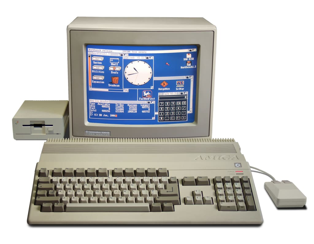 Was The Amiga a Games Machine?