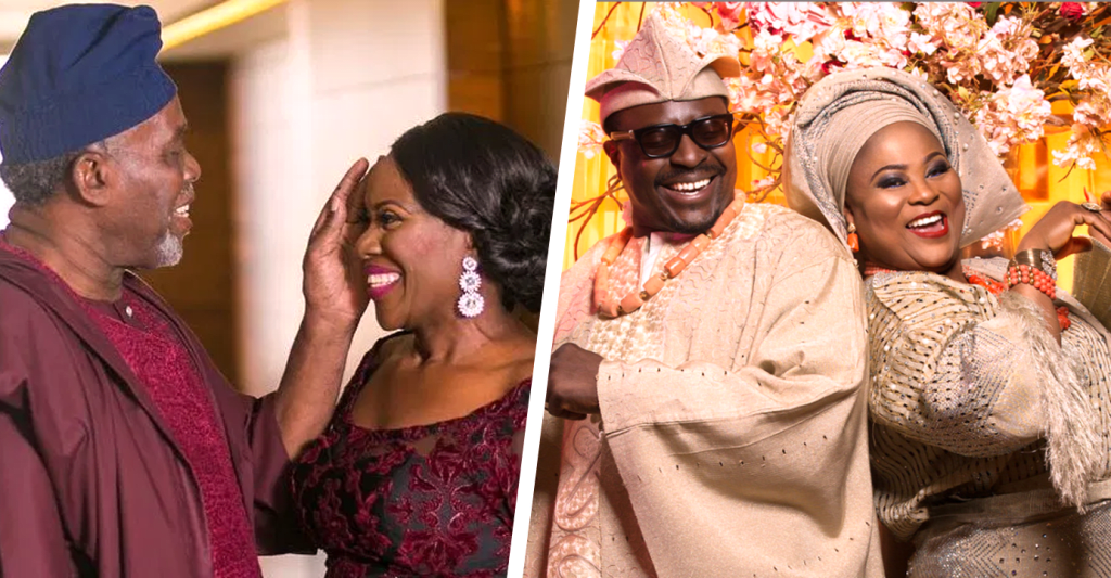 7 Nigerian Celebrities Who've Been Married For Over 20 Years