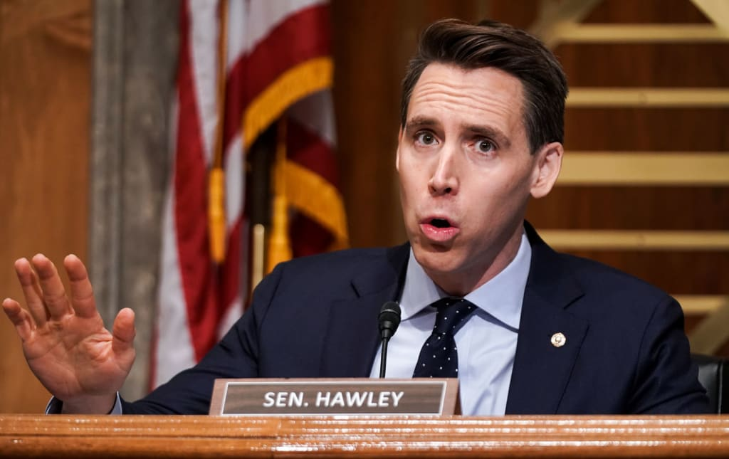 Josh Hawley has always been awful.