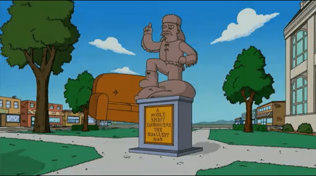"""That Pro-Confederate Statue of """"The Simpsons."""""""