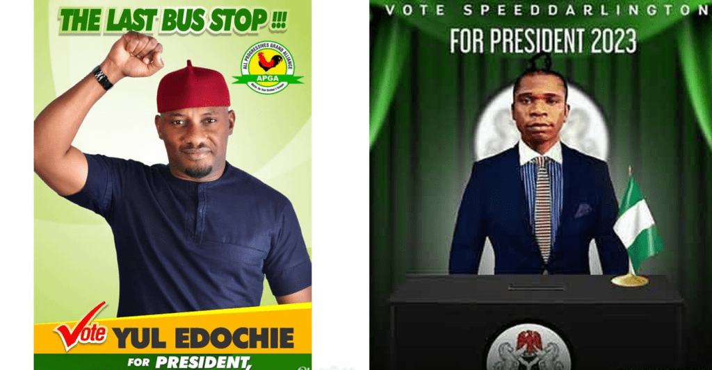 5 Nigerian Celebrities Planning to Run For Presidency in 2023