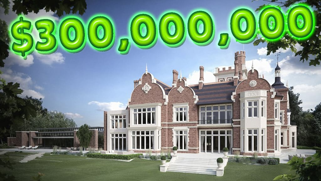 15 Outrageous Billionaire Russian Mega Mansions of 2021