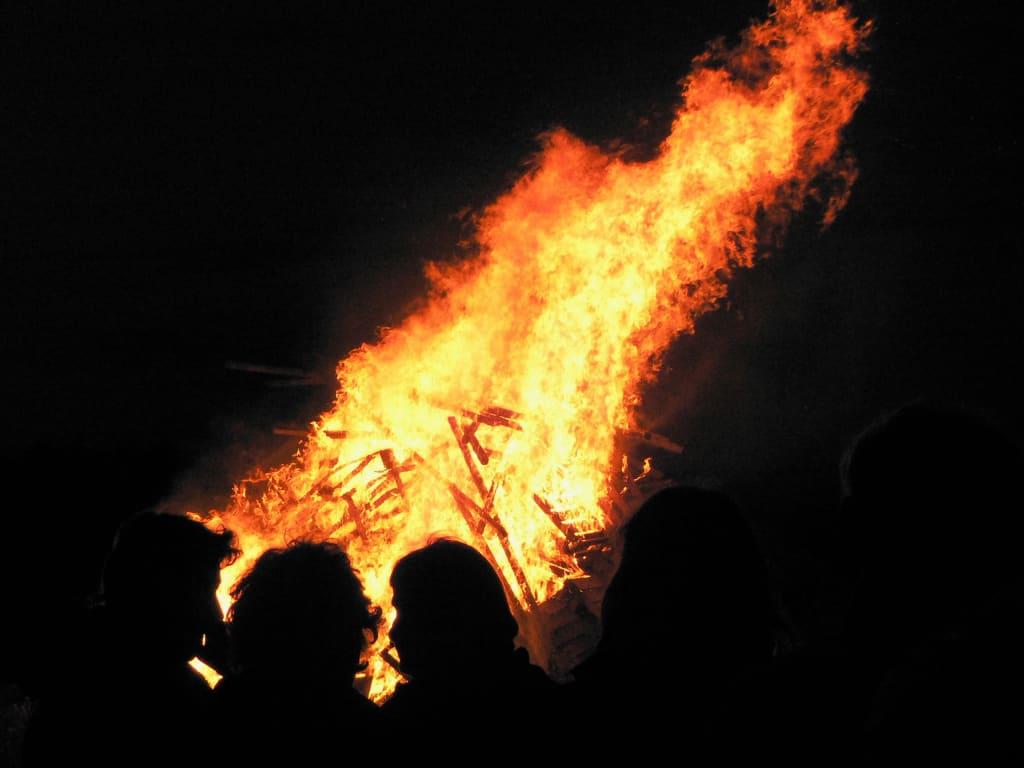 Bonfire of the Baptist