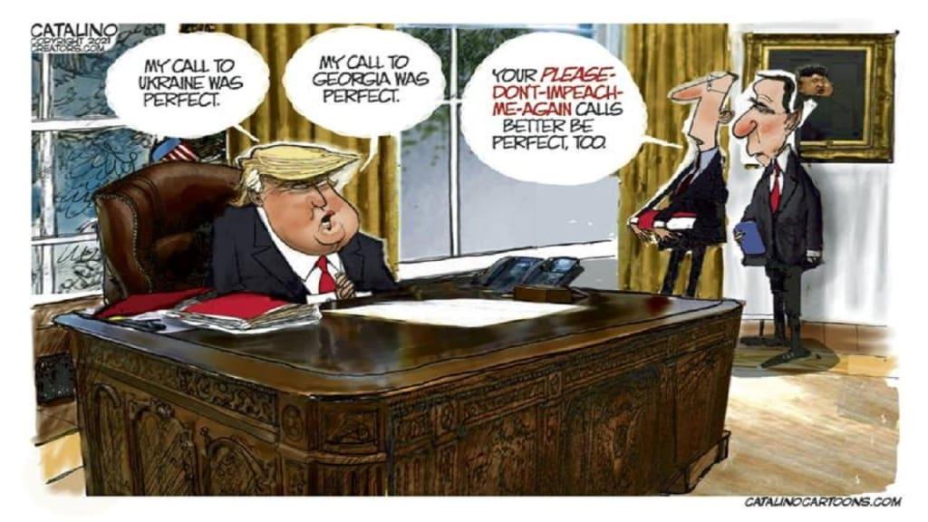 America's Despot: Donald J. Trump -- The Tip of the Iceberg